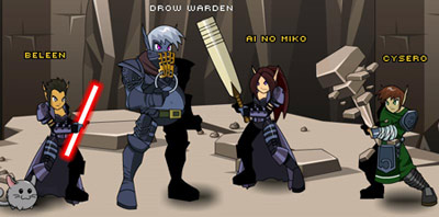 Drow-Warden