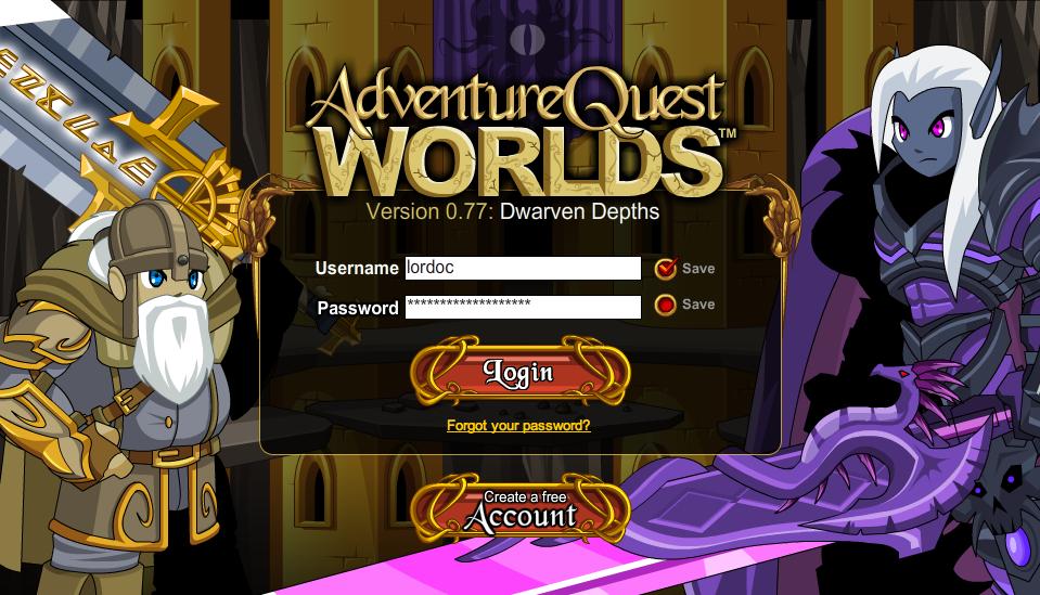Adventure Quest Worlds Pictures   AQWorlds, Ninja Warz, Epic Duel