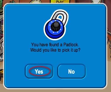 Padlock Yes
