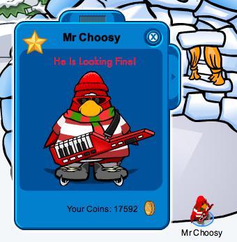 Mr Choosy