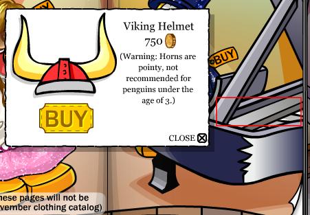 Red Viking Helmet